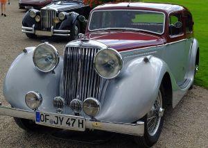 Jaguar MkIV in Schwetzingen 2014