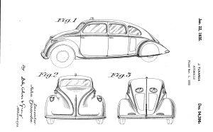 Tjaarda-Patent-US-Des_94-396