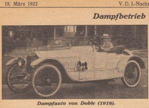 Doble_Dampfwagen_VDI-Nachrichten_1922