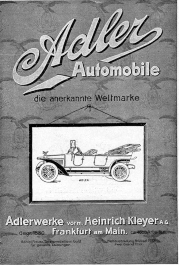 Adler-Reklame_um_1911_Galerie
