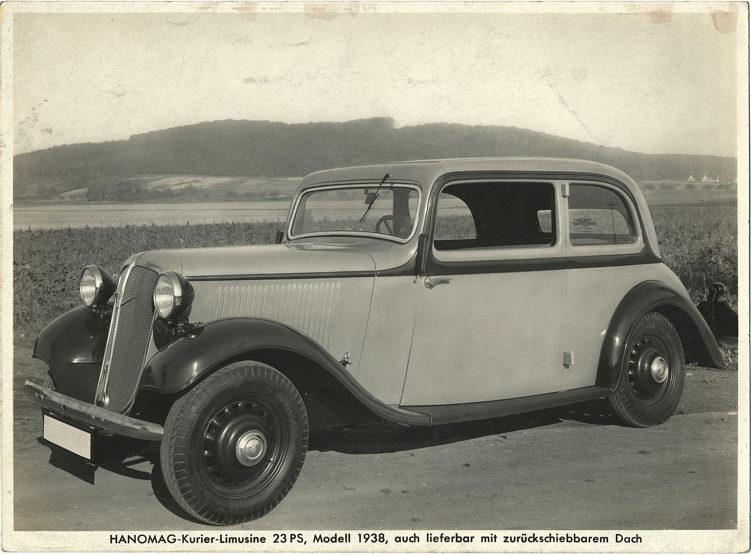 Hanomag_Kurier_Limousine_Pressefoto_1938