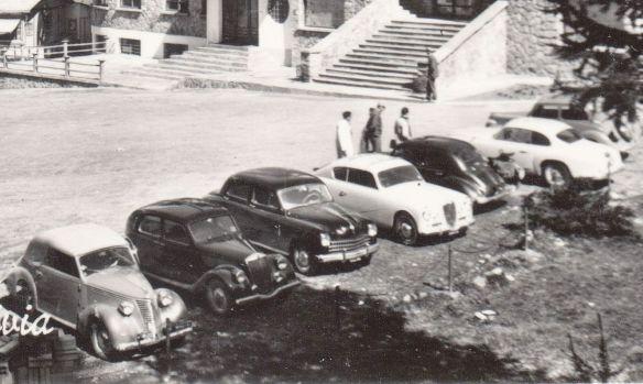 Cervinia_Parkplatz