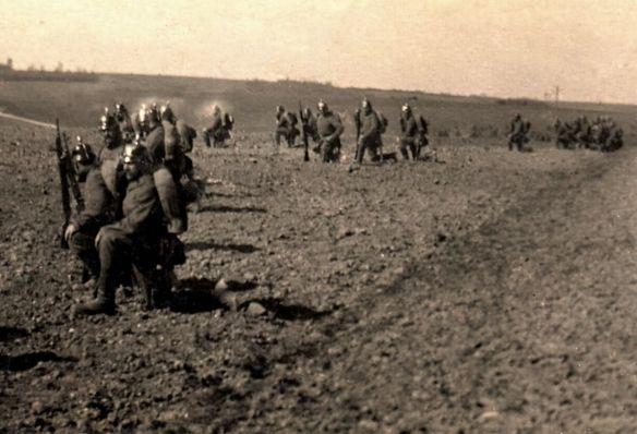 Rolland-Pilain_1914_Soldaten