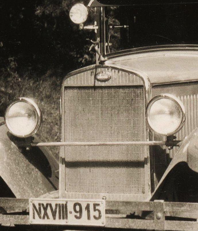 Skoda_430_bei_Tynec_Juli_1931_Kühlergrill