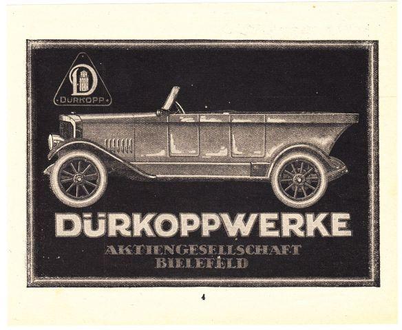 Dürkopp_Reklame_um_1920