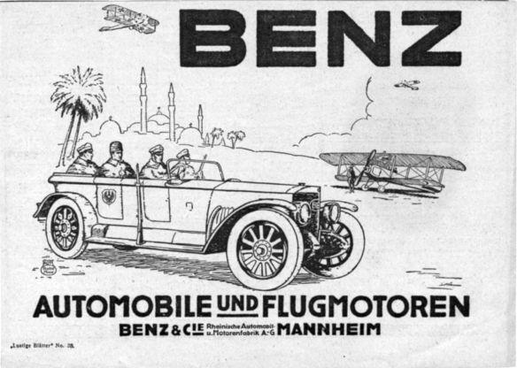 Benz-Reklame_Wk1_Türkei_Galerie