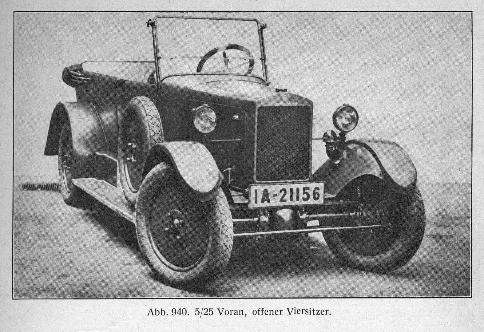 Voran_5-25_PS_Galerie_Motorfahrzeuge_1928