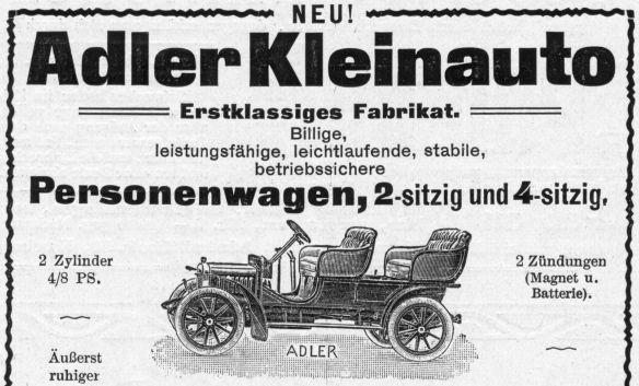 Adler-Reklame_4-8_PS_Kleinauto_1906_Ausschnitt