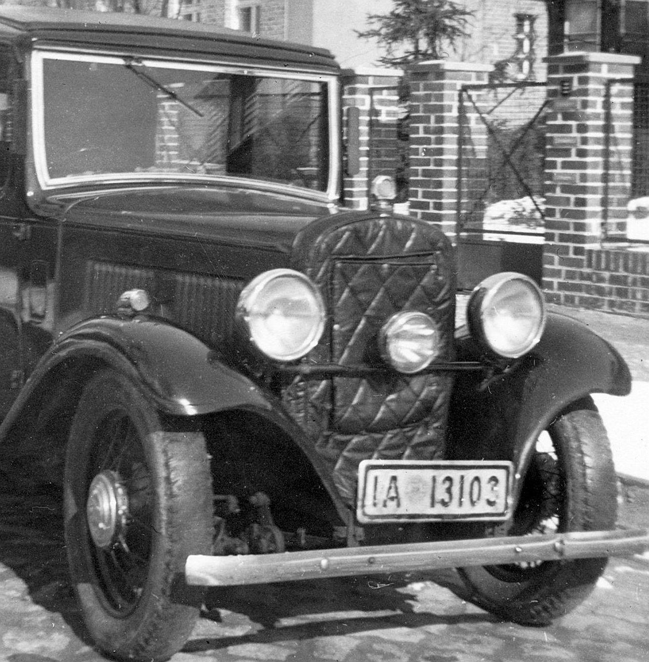 Austin_10-4_vor 1935_Frontpartie