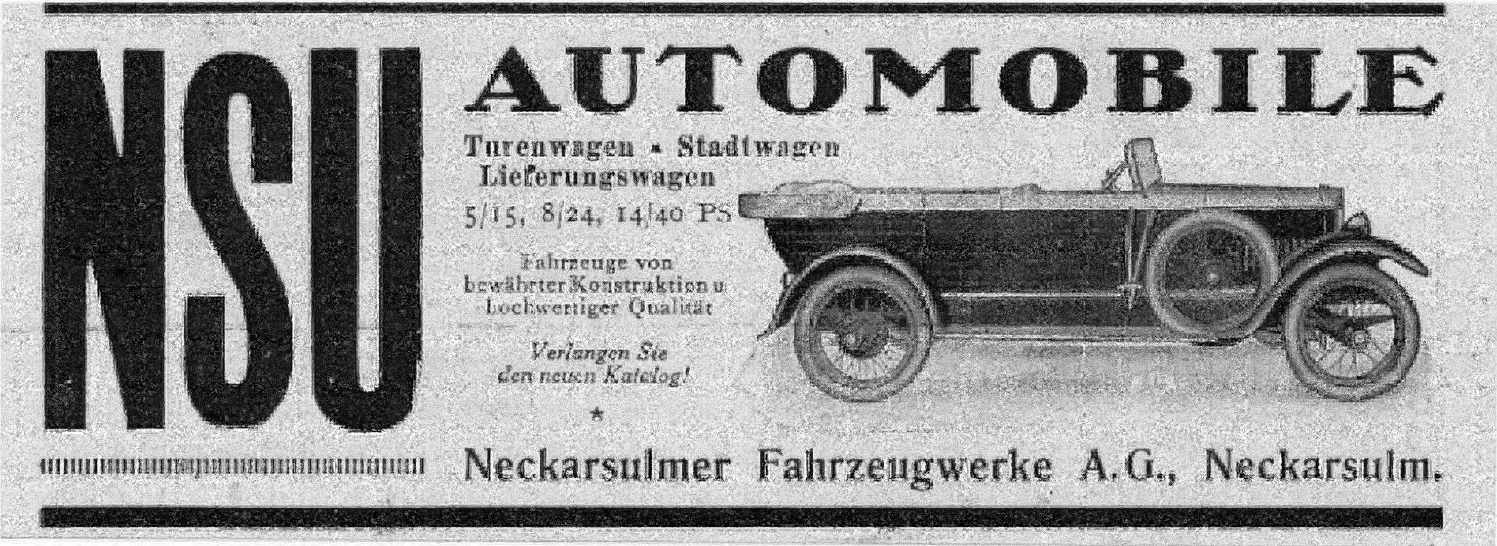 NSU-Reklame_um_1920_Galerie