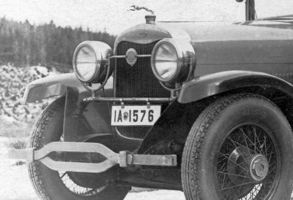 Lincoln_1925-26_Ak_Riesengebirge_nach_Neustadt_Harz_Neujahr_1927_Frontpartie