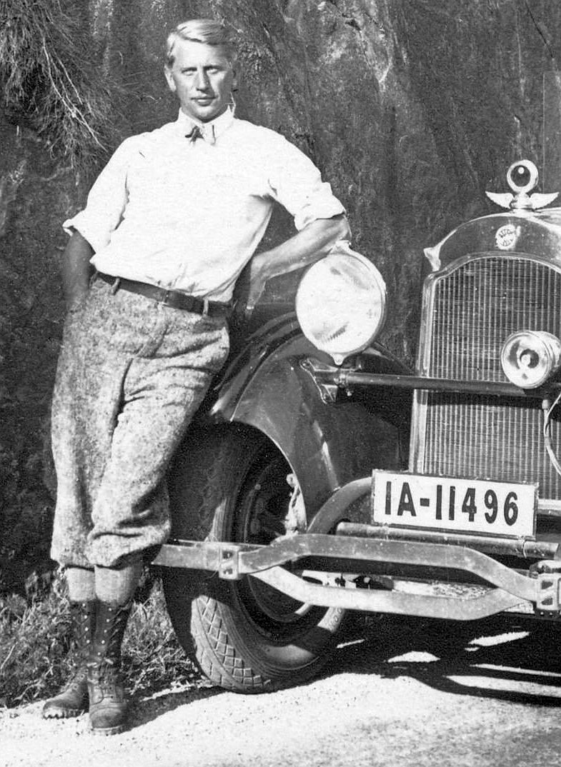 Studebaker_1925_im_Tessin_Insasse