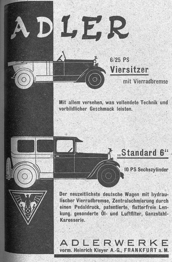 Adler_Reklame_1927_Galerie