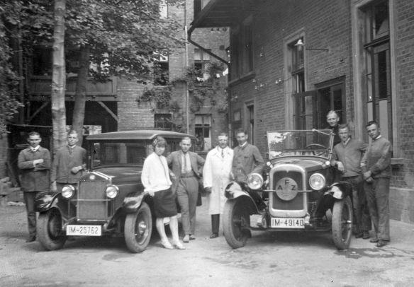 NSU_7-34_PS_und_Chevrolet_Halberstadt_1928_Galerie