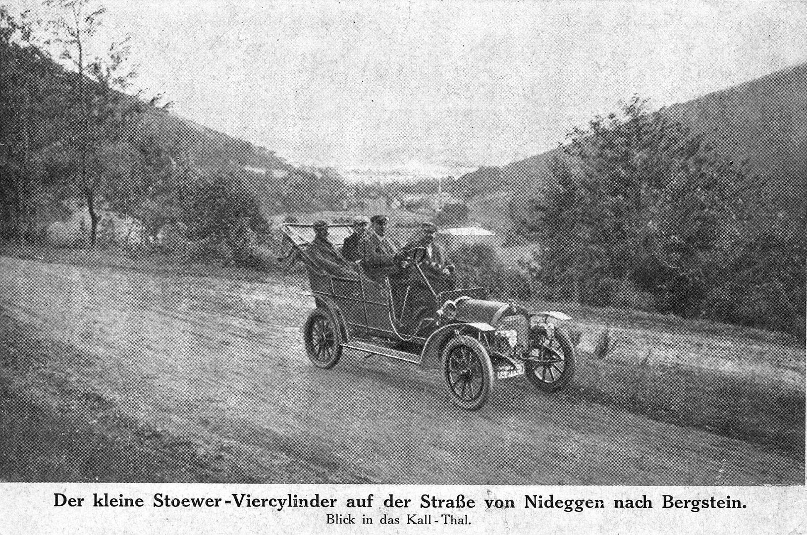 Stoewer-Vierzylinder_klein_Werks-Postkarte_vor 1910_Galerie