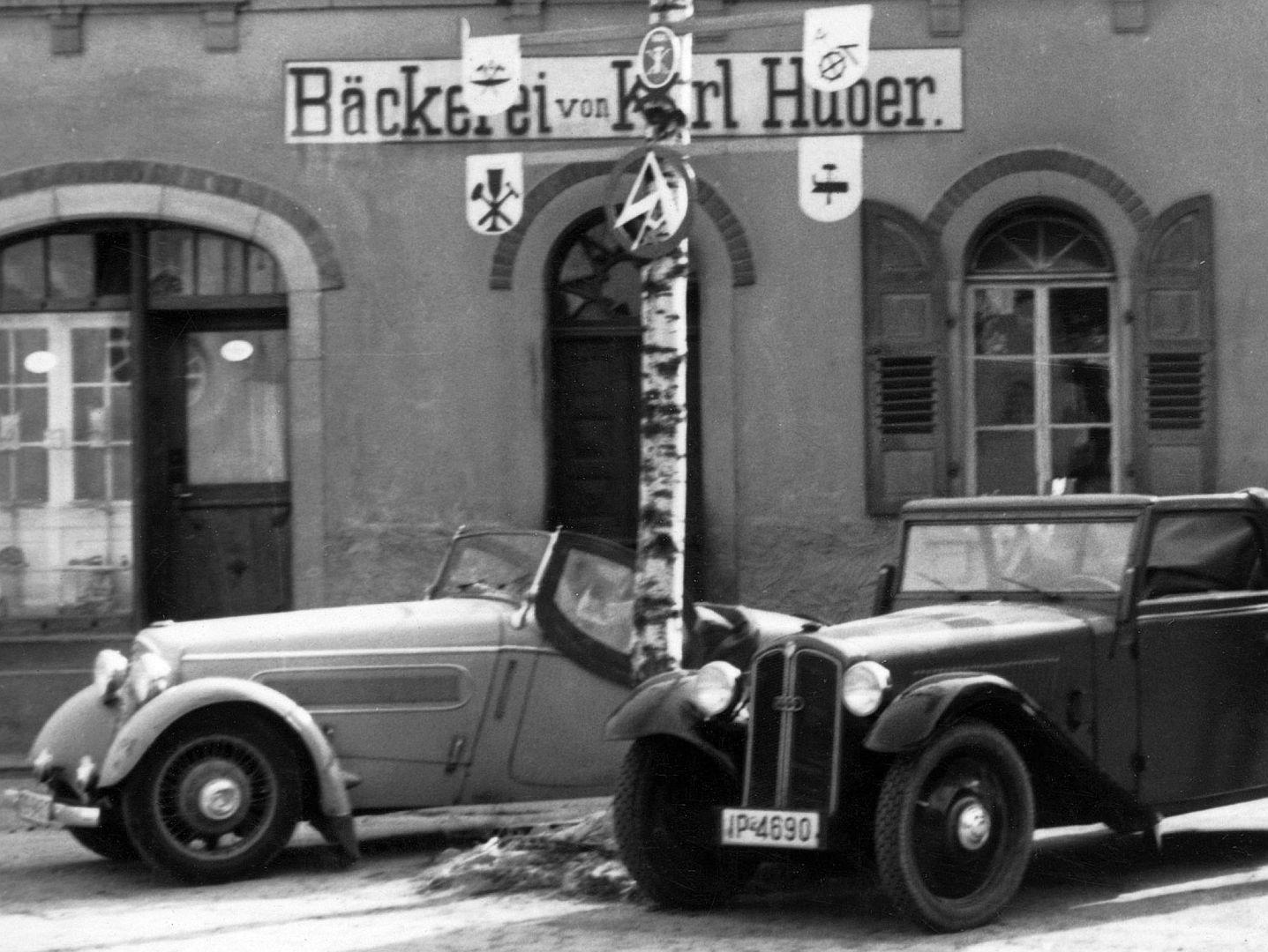 DKW_F5_Front_luxus_Roadster_und F2_Zweisitzer_Galerie