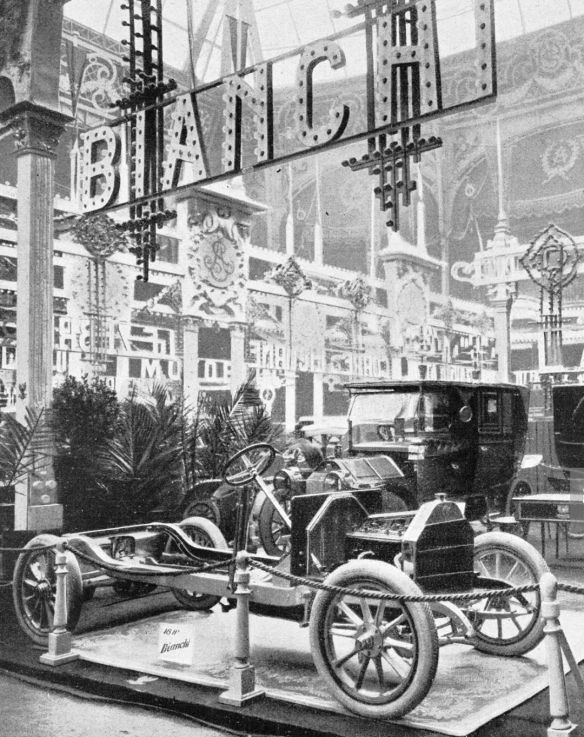 Bianchi_Paris _Salon_L'Illustrazione Italiana, No 52, December 25, 1910_Galerie