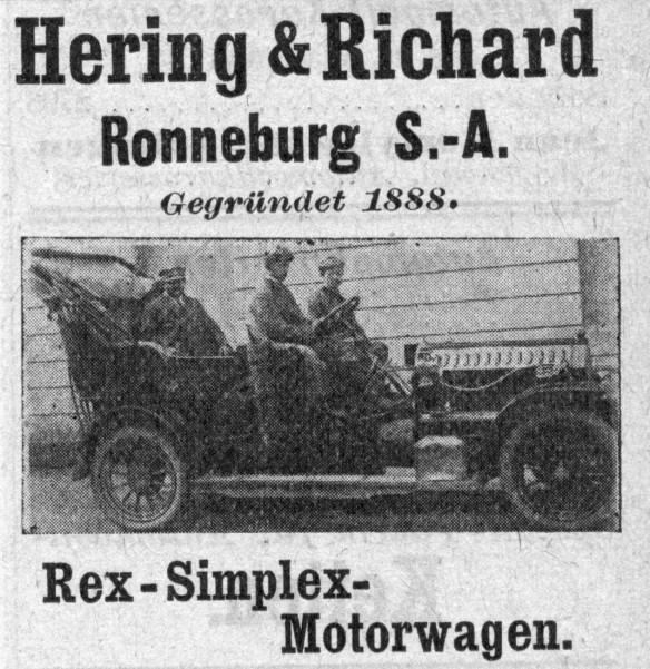 Rex-Simplex_vor_1910_Galerie