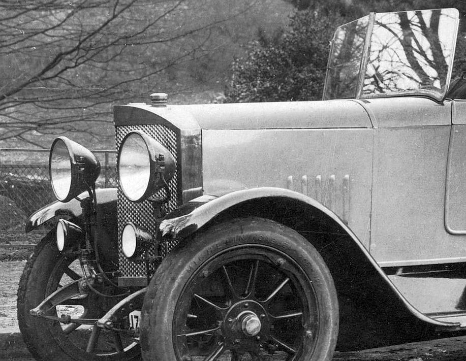 Simson_Bo_6-22_PS_Pk_Aachen_nach_Essen_11-1923_Frontpartie